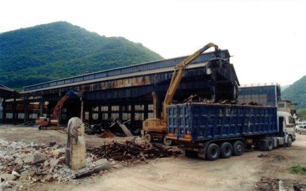 trasporto scarti da demolizione