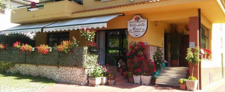 ristorante villa delle rose