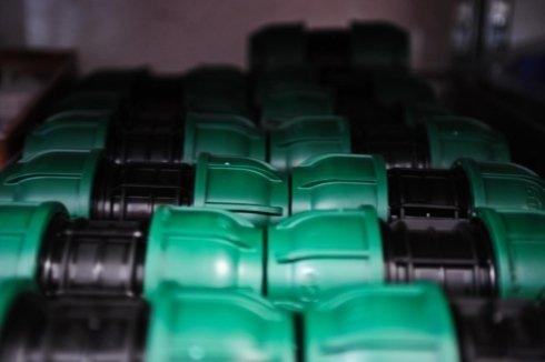 Raccorderia in plastica