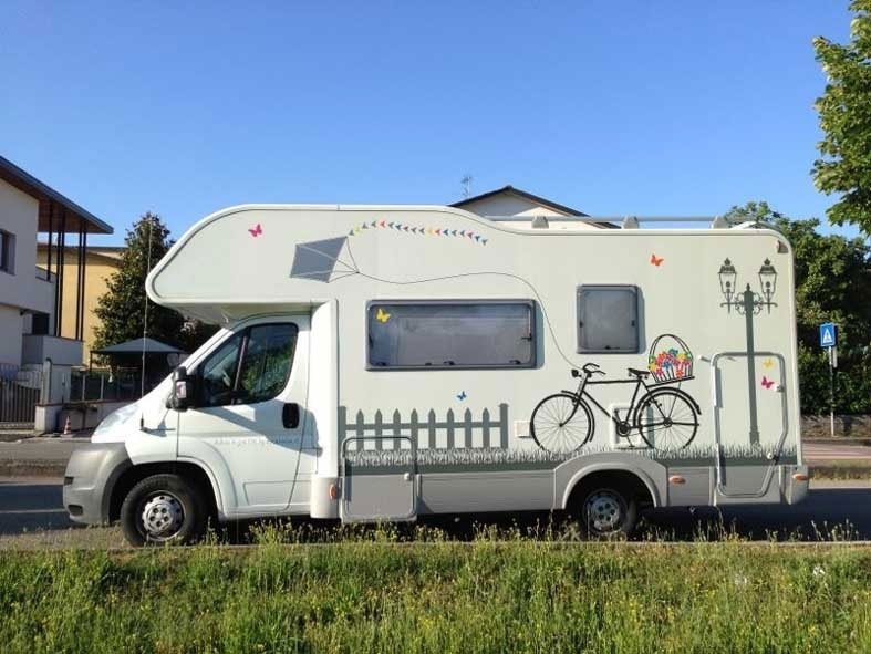 allestimento caravan