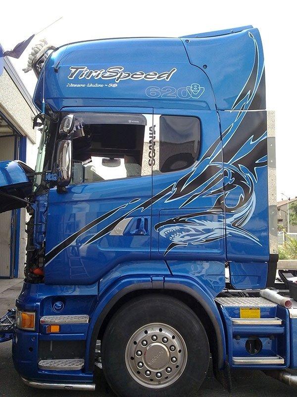 allestimento camion