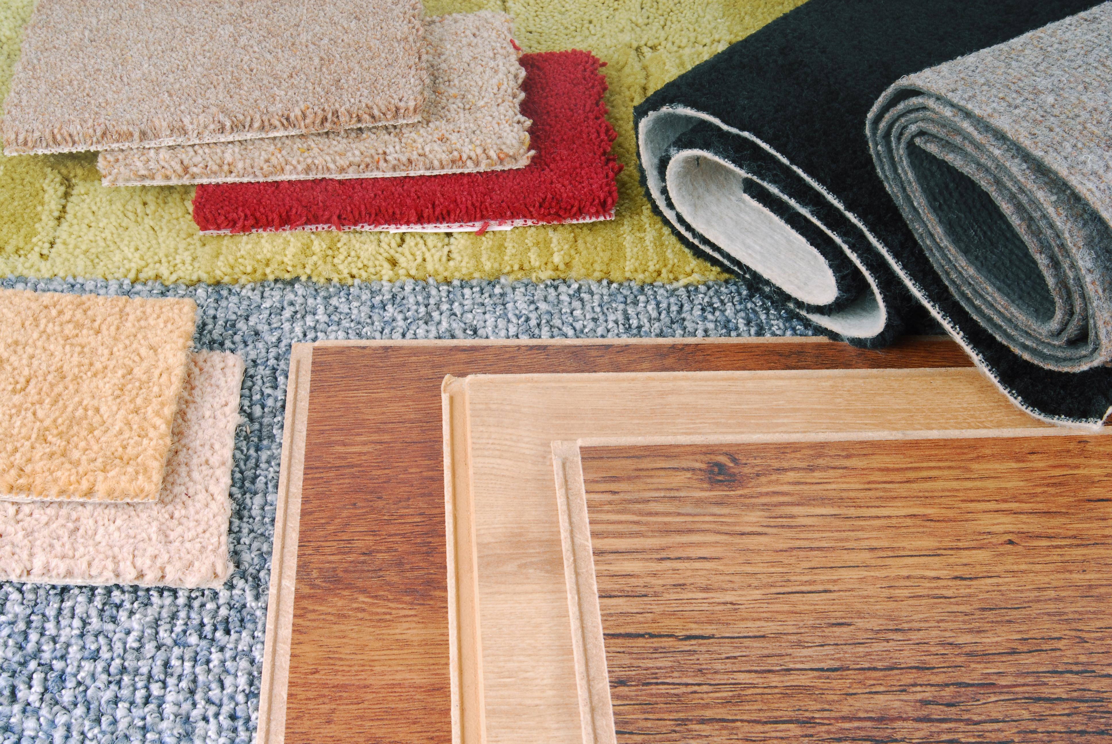 hardwood and carpet flooring options in Berea