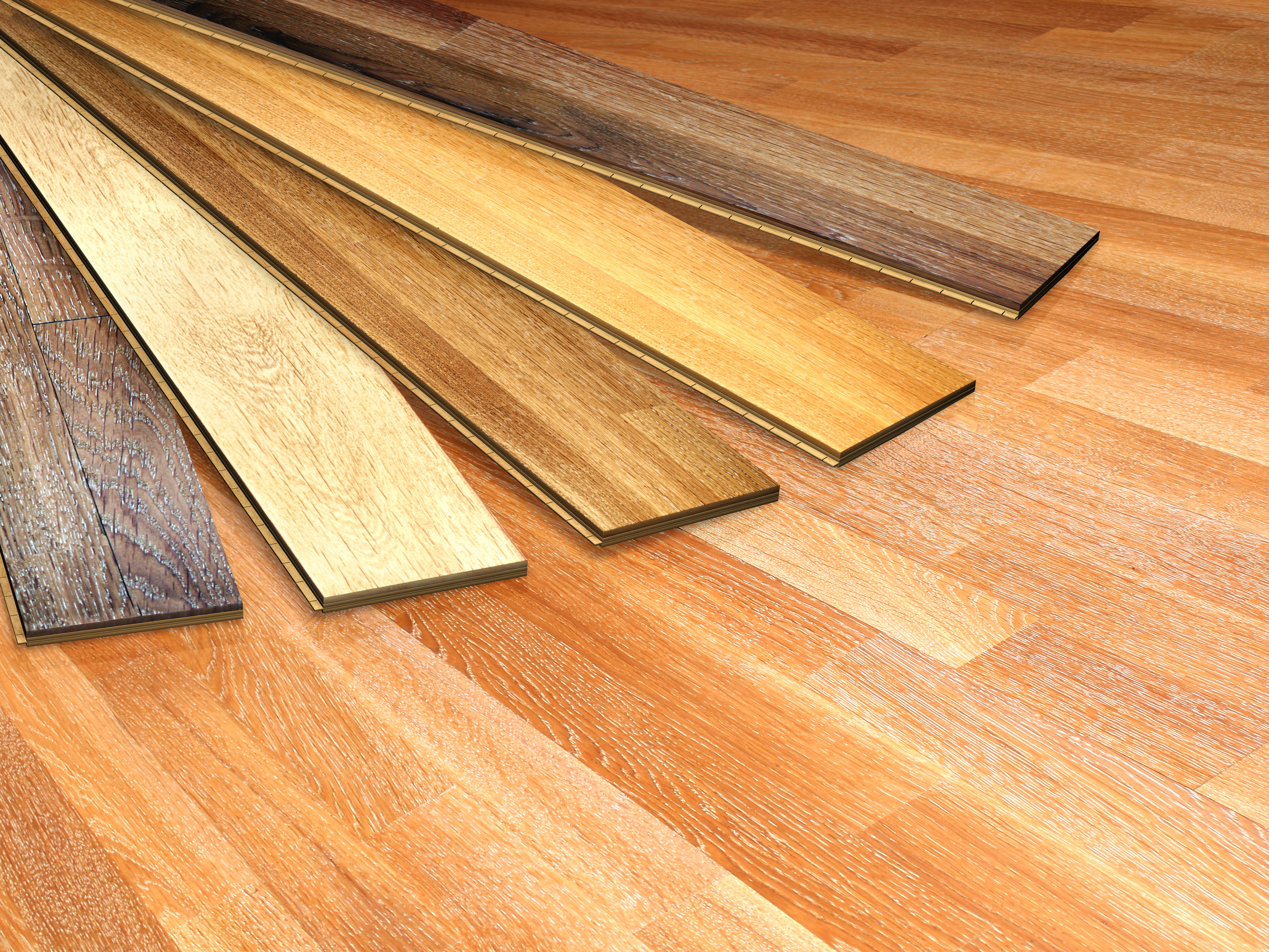 Hardwood floor choices in Berea