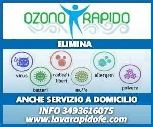 sanificazione all'ozono