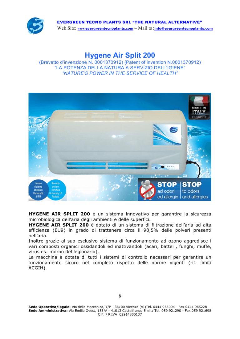 Hygene Air Split