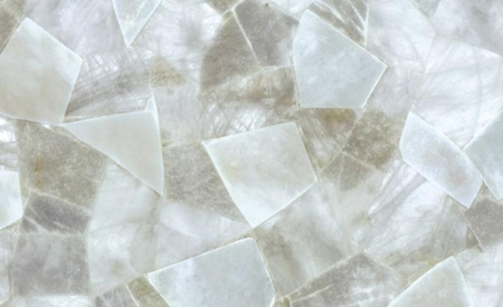 semipreziosi white quartz