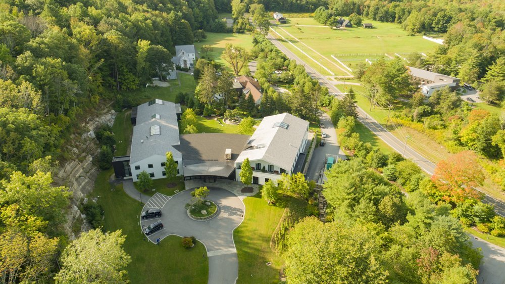 Aerial Drone Photography Of Mountainside Treatment Center CT
