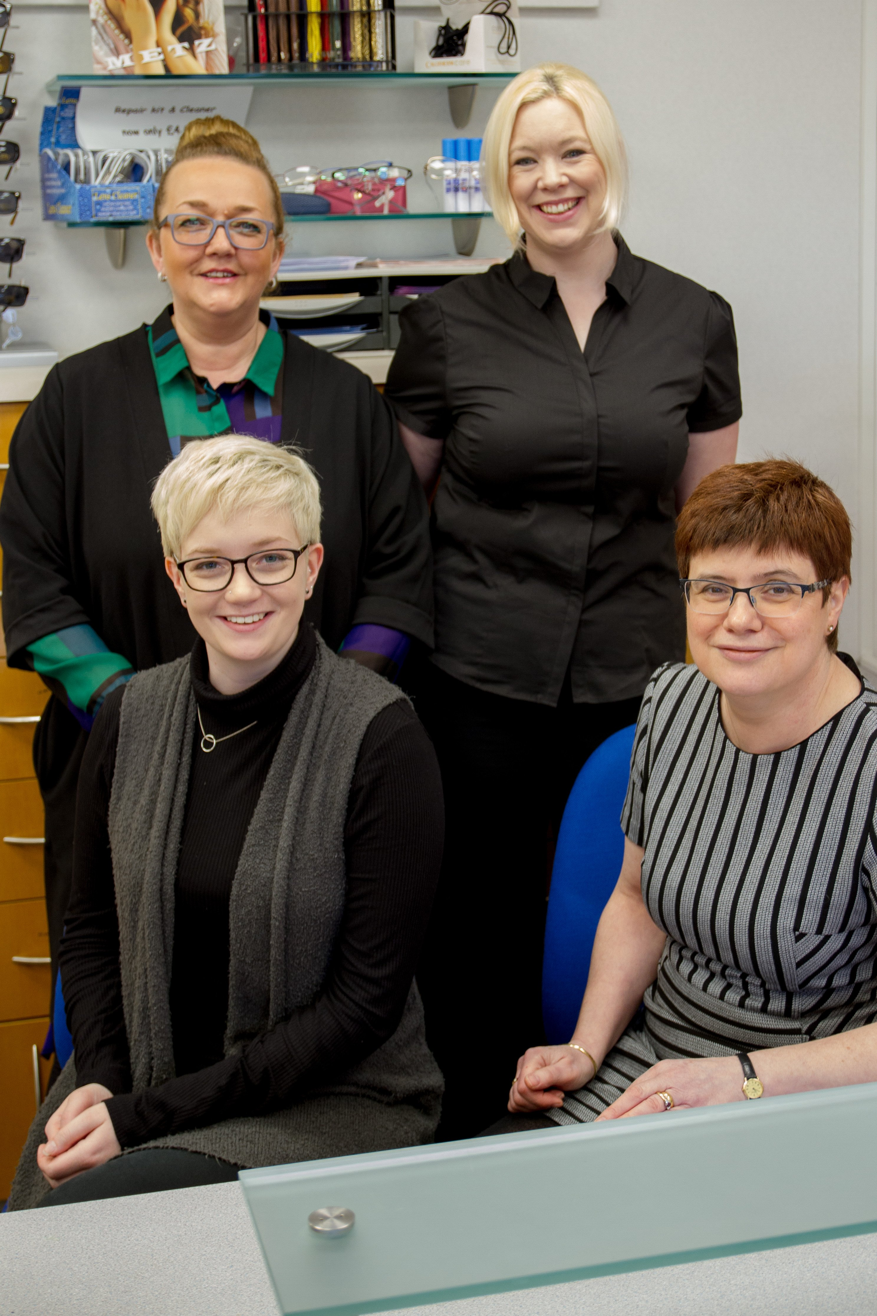 Team of opticians