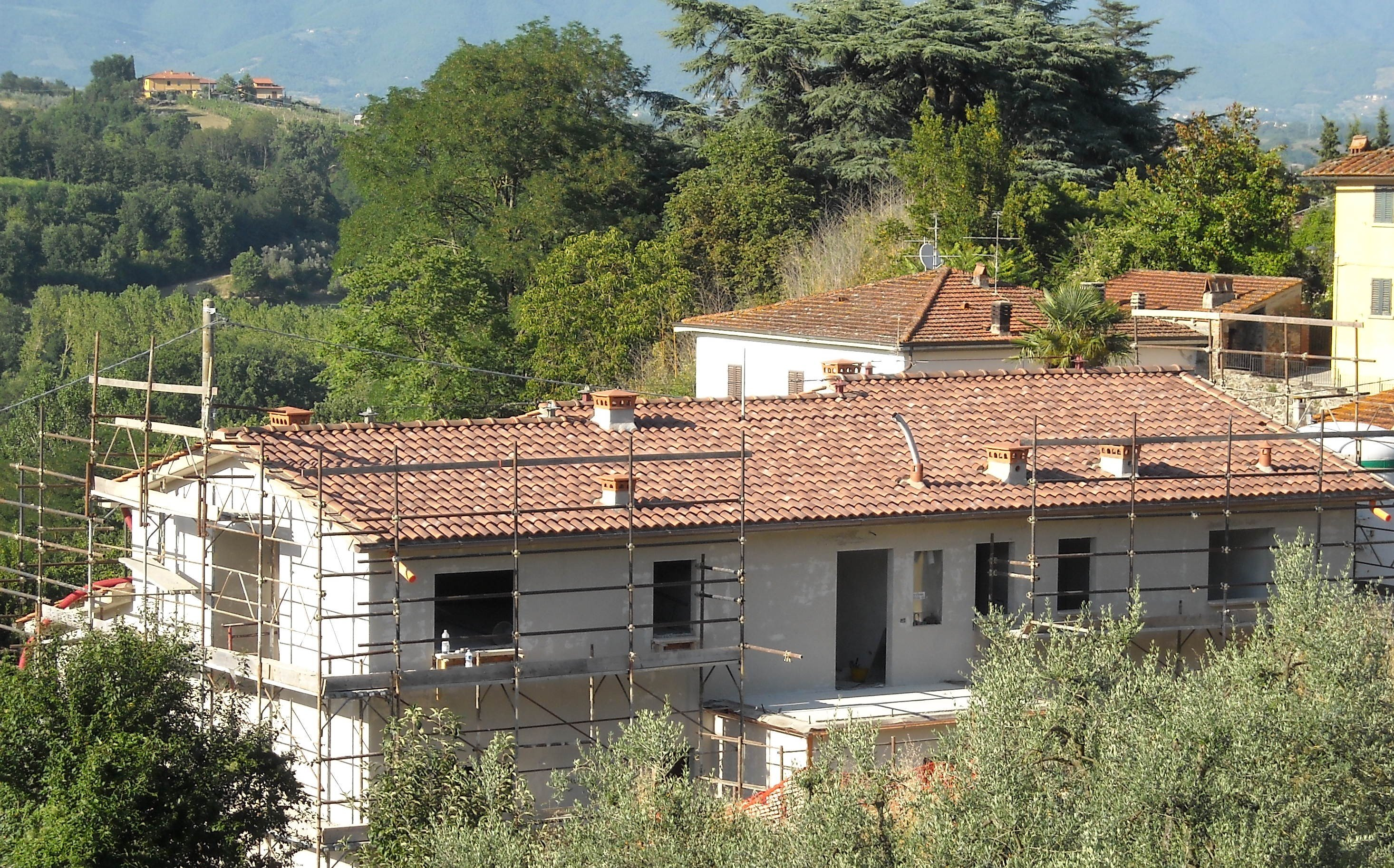rifacimento di un tetto