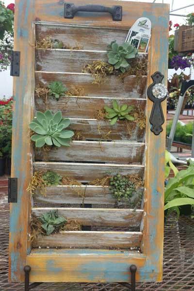 shutter planter