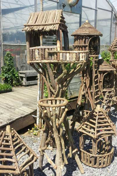variety wood houses