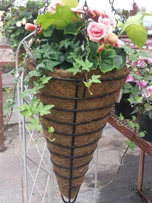 cone shape basket