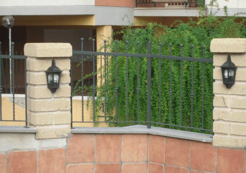 recinzione ferro