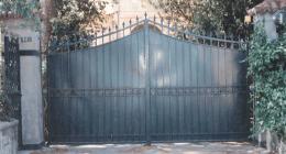 recinzione ferro battuto