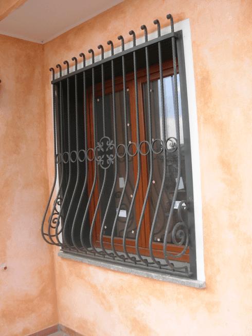 griglia in ferro battuto