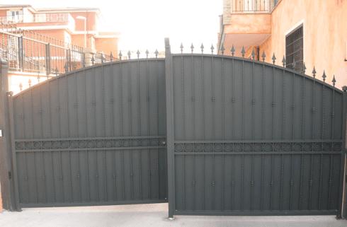 cancello doppio
