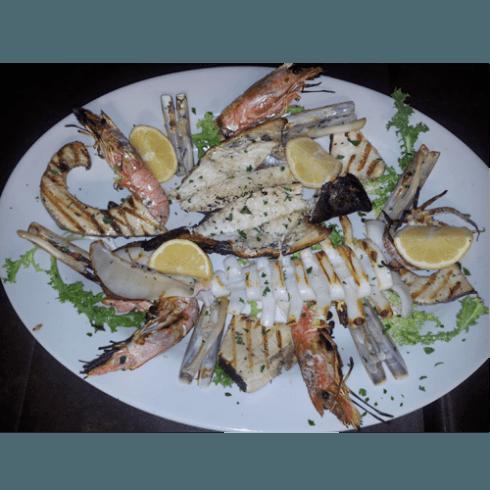 pesce arrostito, grigliata di pesce
