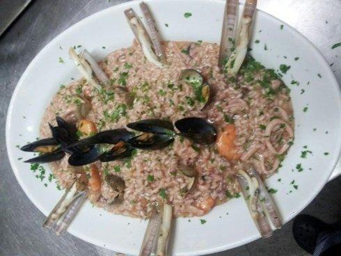 risotto con pesce