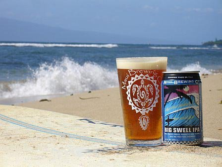 Big Swell drink available in Kihei, HI