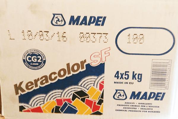 fugante bianco Mapei