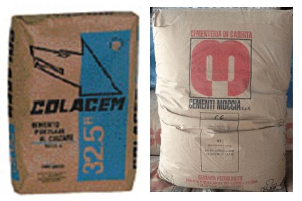 cemento Colacem e cemento Moccia