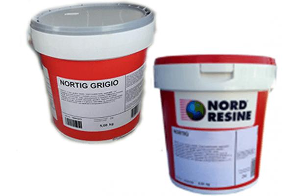 norting rosso e norting grigio Nord resine