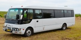 semi coach and deluxe mini buses