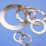 componenti metallici e ingranaggi di freni industriali
