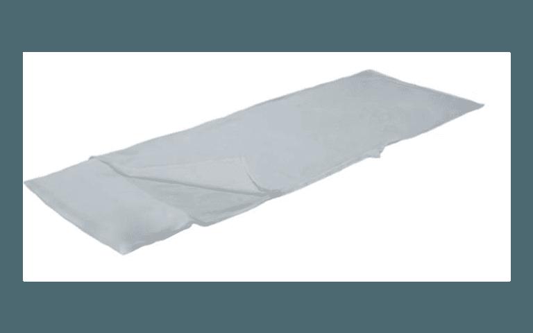 sacco a letto bianco