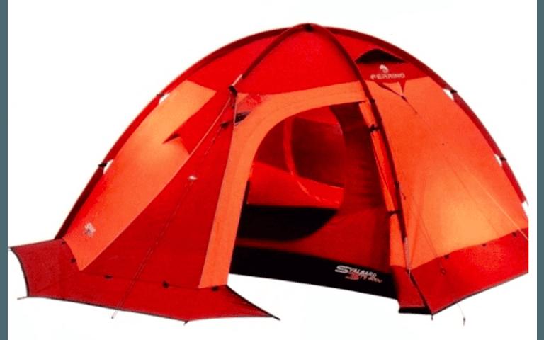 particolare di una tenda a igloo