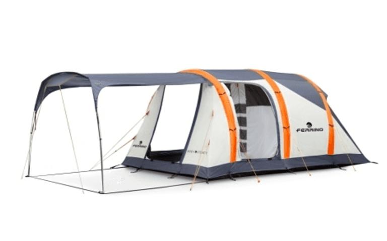 tenda per esterni con parasole