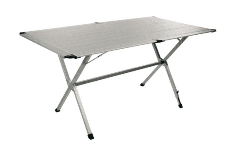 tavolo rettangolare da campeggio