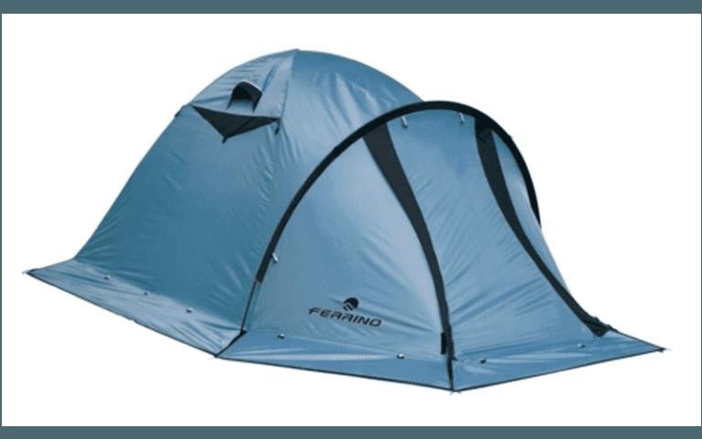 tenda blu per esterni