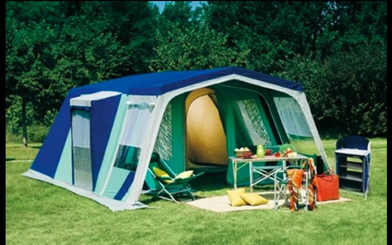 tenda moderna per campeggio