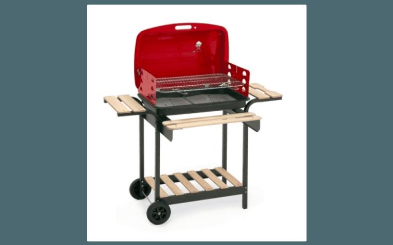 barbecue con bruciatore laterale
