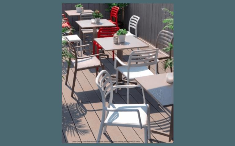 sedie per uso esterno