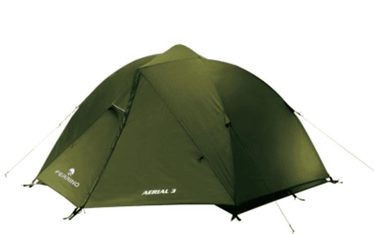 tenda con chiusura totale