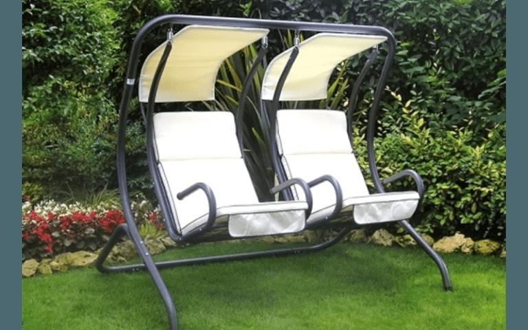 sedie a dondolo da giardino