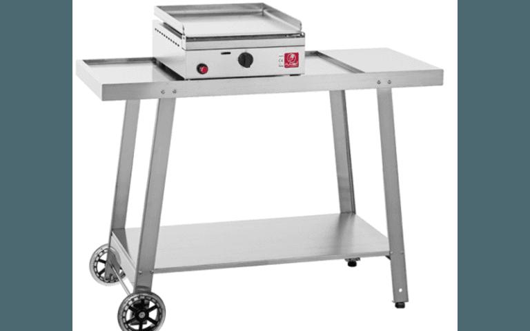 barbecue elettronico in acciaio