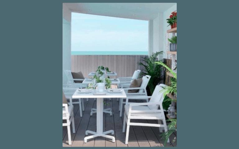 tavolo in pvc per esterni