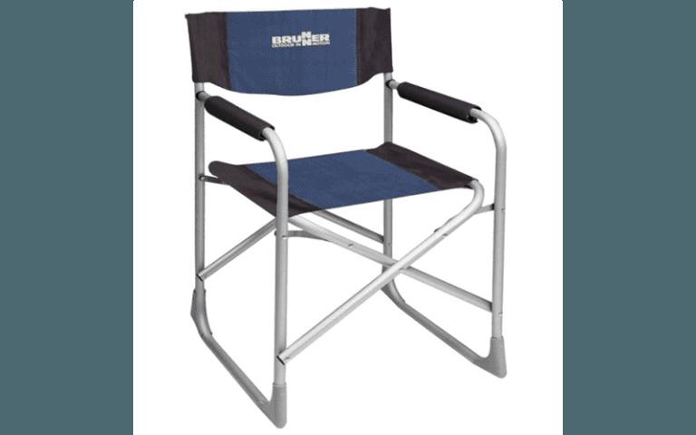 sedia da regista blu