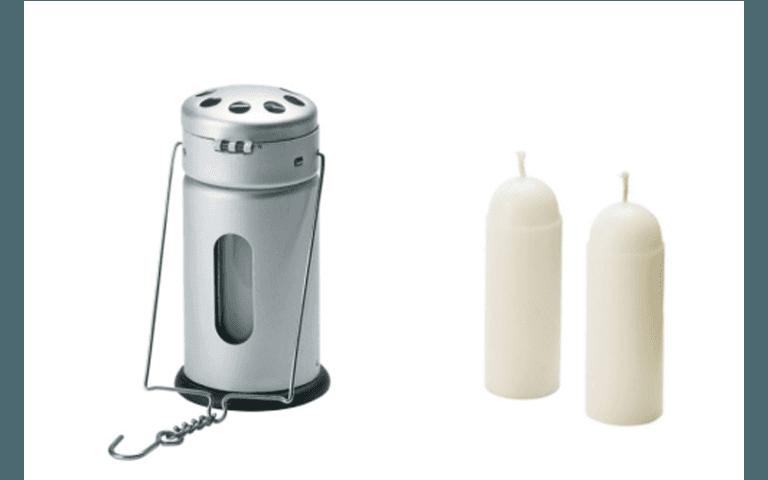 candele per uso esterno