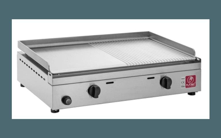 barbecue da piano in acciaio