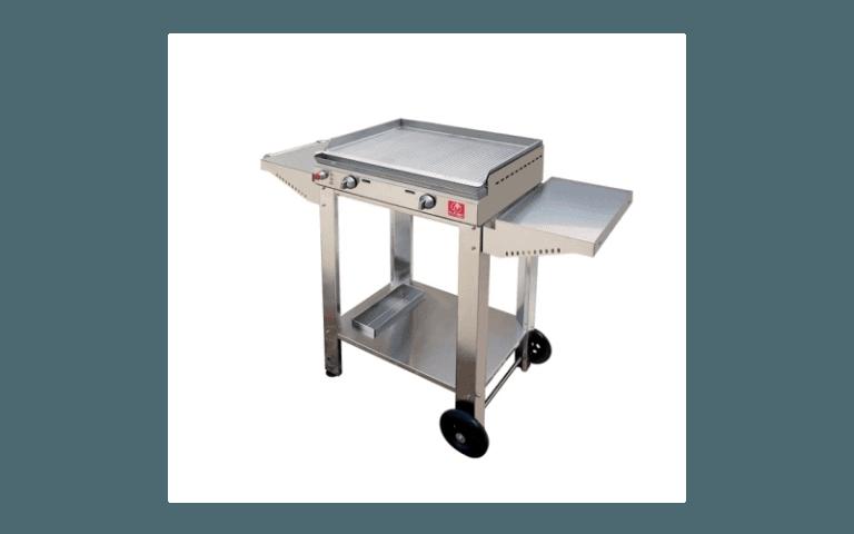 barbecue moderno in acciaio inossidabile
