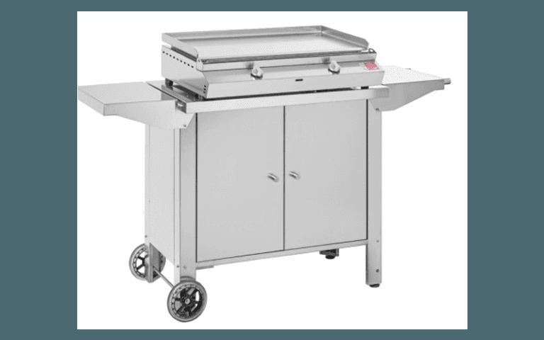 barbecue con piano cottura elettronico