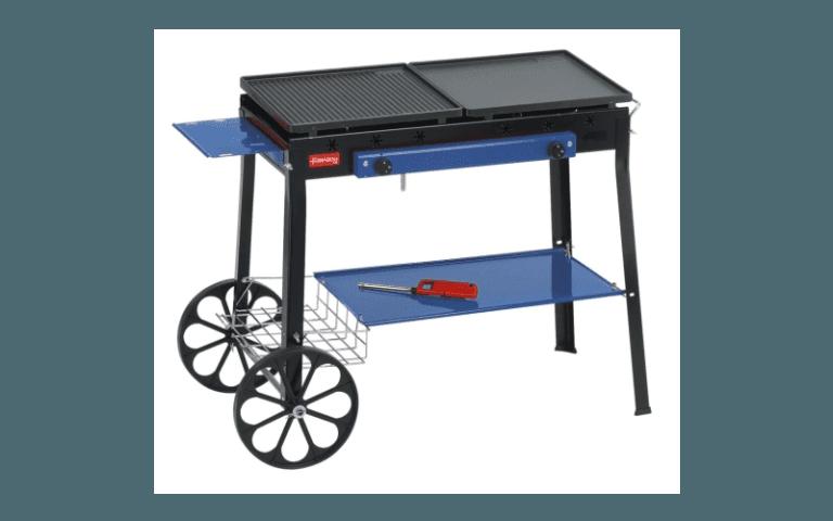 barbecue con piastra