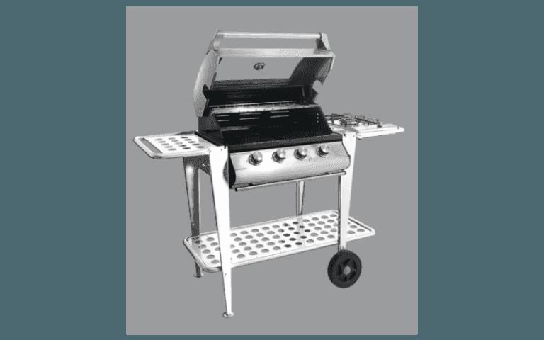 ripiano barbecue in acciaio inossidabile
