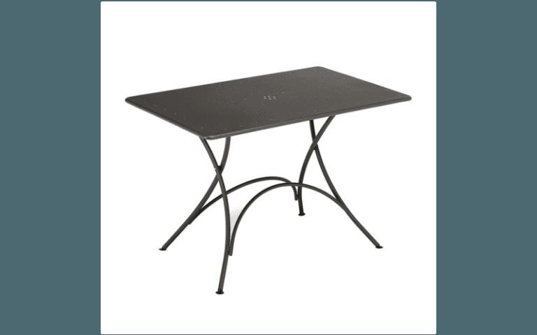 tavolino da giardino in ferro