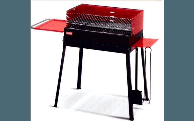 barbecue rosso per esterni