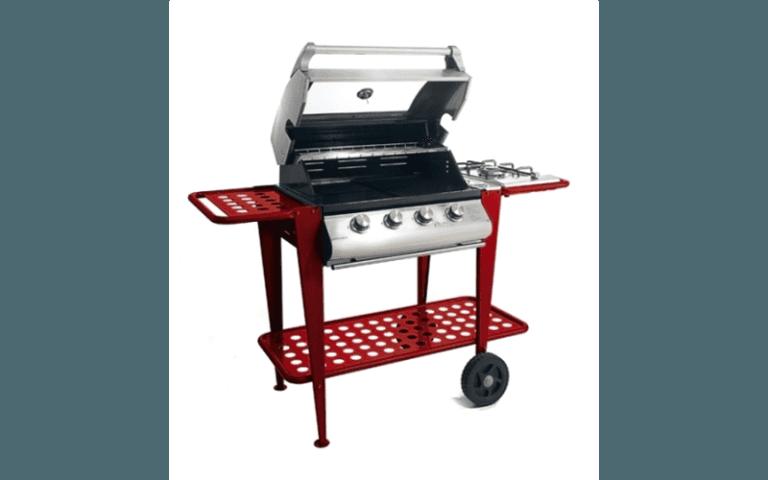 barbecue in acciaio inossidabile